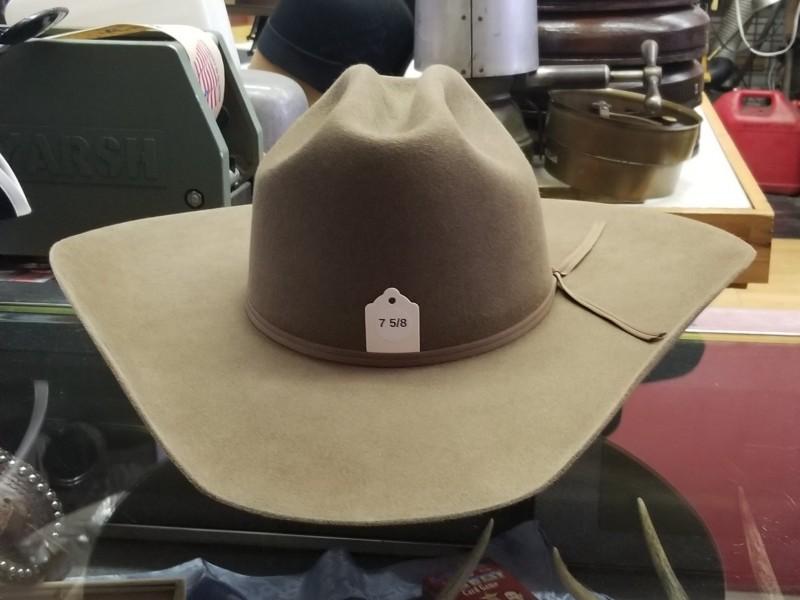 10X Pecan Cattleman s Crease - 7 5 8 - Buckaroo Hatters 58eef078b91